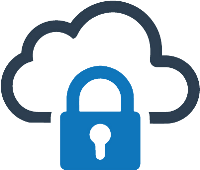 Cloud security workshop icon